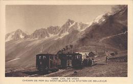 74 SAINT GERVAIS LE FAYET TRAMWAY DU MONT BLANC STATION BELLEVUE LES HOUCHES  ED BRAUN 13368 LES BEAUX SITES DE FRANCE - Saint-Gervais-les-Bains