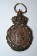"""Médaille De Napoléon, """"A Ses Compagnons De Gloire, Sa Dernière Pensée, Ste Hélène 5 Mai 1821"""" - France"""