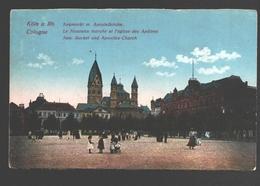 Köln - Neumarkt M. Apostelkirche - Animiert - Army Post / Postes Militaires - Koeln