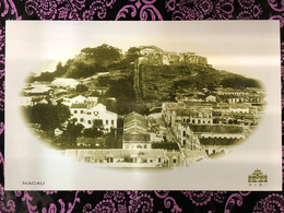 MACAU VIEW OF THE FORT POST CARD - PRIVATE PRINTING - Cartes Postales