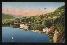Lombardia. *Panorama Di Cernobbio Con La Villa D'Este* Ed. C.C.M. Circulada 1924. - Otras Ciudades