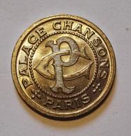 ANCIEN JETON PALACE CHANSON BON POUR UNE AUDITION. NEUF. - Professionali / Di Società