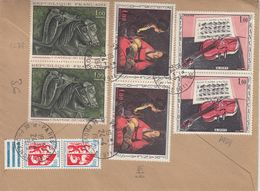 FRANCE - 1975 - Busta Viaggiata Di Raccomandata Affrancata (vedere Descrizione Completa) - 1961-....