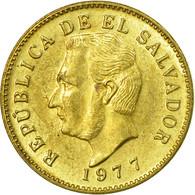 Monnaie, El Salvador, Centavo, 1977, Sherritt, TTB, Laiton, KM:135.2 - El Salvador