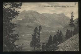 Lombardia. *Livigno Dalla Strada Per Bormio* Ed. F. & R. Nº 2-6767. Circulada 1927. - Otras Ciudades