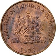 Monnaie, TRINIDAD & TOBAGO, 5 Cents, 1979, Franklin Mint, TTB, Bronze, KM:30 - Trinité & Tobago