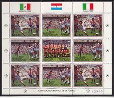Soccer World Cup 1986 - PARAGUAY - Sheet MNH** - Fußball-Weltmeisterschaft