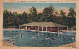 South Carolina Spartanburg Municipal Swimming Pool Cleveland Park - Spartanburg