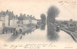Saint Amand Montrond        18        Canal Du Berry     (voir Scan) - Saint-Amand-Montrond