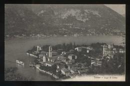Torno. *Lago Di Como* Ed. Brunner & C. Nº 13406. Nueva. - Otras Ciudades