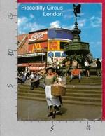 CARTOLINA VG REGNO UNITO - LONDON - Piccadilly Circus - 11 X 16 - ANN. 1989 - Piccadilly Circus