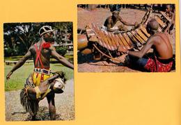 AFRIQUE NOIRE AFRICA IN PICTURES  ( LOT DE 2 CARTES ) - Cartes Postales
