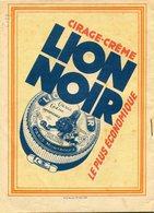 PROTEGE CAHIER LION NOIR - Buvards, Protège-cahiers Illustrés