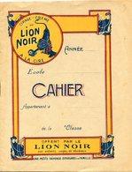CAHIER LION NOIR - Carte Assorbenti