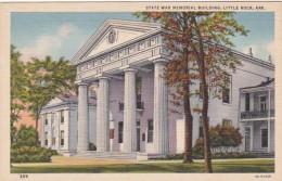 Arkansas Little Rock State War Memorial Building Curteich - Little Rock