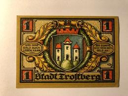 Allemagne Notgeld Trolberg 1 Mark - [ 3] 1918-1933 : Weimar Republic