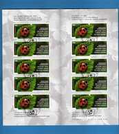 Svizzera °- 2002 - . Libretto.Francobollo Per Saluti, Usato - Oblitéré.  Vedi Descrizione. - Blocchi