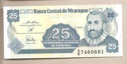 Nicaragua - Banconota Non Circolata FdS Da 25 Centesimi P-170a.2 - 1991 - Nicaragua