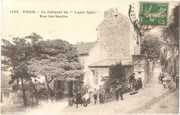 """Dépt 75 - PARIS (18è Arr.) - Le Cabaret Du """"Lapin Agile"""" - Rue Des Saules - MONTMARTRE - ELD N° 4194 - Arrondissement: 18"""
