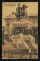 Milano. *Monum. A Vitt. Emanuele II* Ed. Iris. Nueva. - Milano (Milan)
