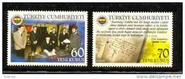 2007 TURKEY THE CENTENARY OF FENERBAHCE SPORTS CLUB MNH ** - Equipos Famosos