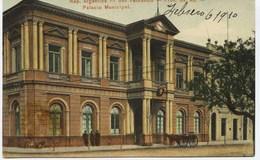 2776 -  Argentine - SAN FERNANDO   : PALACIO MUNICIPAL   - Prov.Bs. As.  -Circulée En 1910 - - Argentina