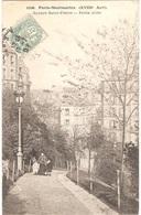 Dépt 75 - PARIS-Montmartre (18è Arr.) - Square Saint-Pierre - Petite Allée - Arrondissement: 18