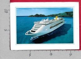 CARTOLINA NV ITALIA - COSTA VICTORIA - Navi Da Crociera - 11 X 16 - Barche