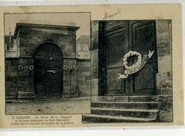 LANGRES Inventaires 1906, Un Des Deux Clichés De L'évènement, Couronnes Mortuaires Sur Portes - Langres