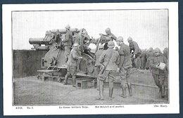SPB N°5  La Grosse Artillerie Belge - Guerre 1914-18