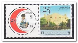 Qatar 2003, Postfris MNH, 25 Years Red Crescent Of Qatar - Qatar