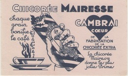 Buvard Petit Format  - MAIRESSE - Chicorée CAMBRAI (Nord) - Buvards, Protège-cahiers Illustrés