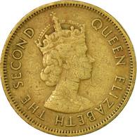 Monnaie, Hong Kong, Elizabeth II, 10 Cents, 1963, TB+, Nickel-brass, KM:28.1 - Hong Kong