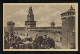 Milano. *Castello Sforzesco* Ed. C.C.M. Nº 1266. Nueva. - Milano (Milan)
