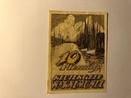 Allemagne Notgeld Warnemunde 10 Pfennig - [ 3] 1918-1933 : Weimar Republic