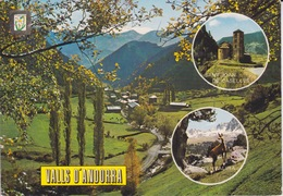 ANDORRE - VALLS D'ANDORRA - ST JOAN DE CASELLES - VALLÉE D'ENVALIRA - VOIR CACHET ET TIMBRE - Andorra