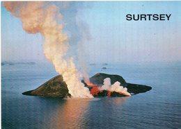 Surtsey - The Island , Which Was Born During The Submarine Eruption - Islande