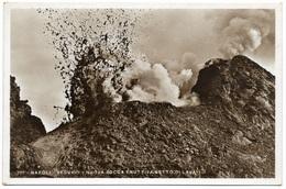 Napoli - Vesuvio Nuova Bocca Eruttiva Getto Di Lava - Real Photo - Vincenzo Carcavallo Unused - Napoli (Naples)