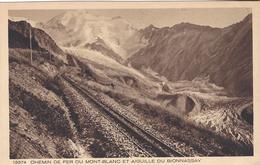 74 SAINT GERVAIS LE FAYET TRAMWAY DU MONT BLANC RAMPE DU MONT LACHAT GLACIER DE BIONNASSAY ED BRAUN 13374 - Saint-Gervais-les-Bains