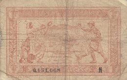 Billet 1 F Trésorerie Aux Armées Lettre N FAY VF 4.1 N° 0.151.668 - Tesoro