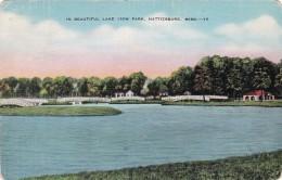 Mississippi Hattiesburg Scene In Lake View Park - Hattiesburg