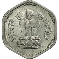 Monnaie, INDIA-REPUBLIC, 3 Paise, 1971, TTB, Aluminium, KM:14.2 - Inde