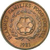 Monnaie, Tonga, King Taufa'ahau Tupou IV, 2 Seniti, 1981, TTB, Bronze, KM:67 - Tonga