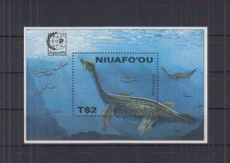 U564. Niuafo'ou - MNH - Nature - Marine Life - Prehistoric Animals - Other