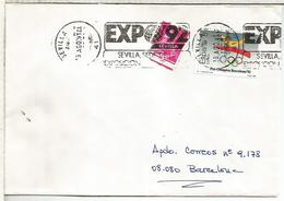 SEVILLA  CC CON RODILLO EXPOSICION UNIVERSAL DE SEVILLA EXPO 92 - 1992 – Sevilla (España)