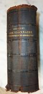 ANCIEN DICTIONNAIRE HISTOIRE Et GEOGRAPHIE  XIXeme Siecle 1857 Par M.N. BOUILLET - 1801-1900
