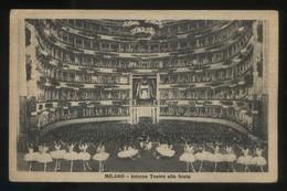 Milano. *Interno Teatro Alla Scala* Circulada 1927. - Milano (Milan)