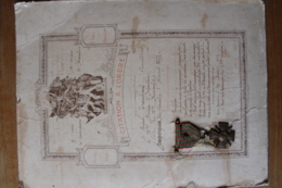 Citation Pour Un Hussard (13 Eme Regiment) Avec Sa Croix De Guerre ,' 1914 1918 - 1914-18