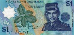 BRUNEI-1 Ringgit/Dollar 1996 P-22 UNC - Brunei
