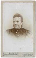 Woman Carte De Visite 1897 - Jac Schotel Rotterdam - Photographs